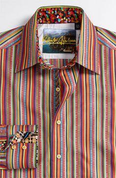 Robert Graham 'Torch' Woven Sport Shirt