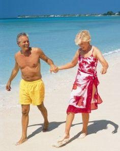 Happy couple on the BVI Beaches