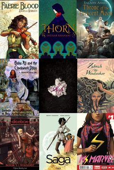 List of books by POC authors