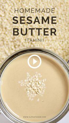 Amazing Food Videos, Buzzfeed Food Videos, Homemade Tahini, Rainbow Food, Butter Recipe, Easy Healthy Recipes, Diy Food, Mexican Food Recipes, Food To Make