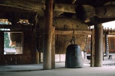 Temple Bell, outside Daegu Aug 1953