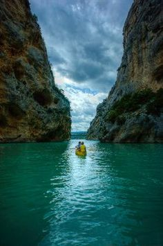 Gorges du Verdon by Kayak ---south of france