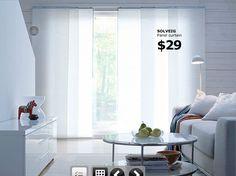 ikea panel curtains   Ikea Sliding Panels Curtain
