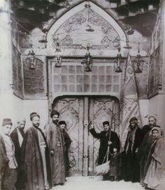 Entrance to the shrine of Imam Ali, peace be upon him - Najaf, - 1925