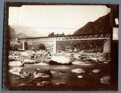 Adolphe Braun, Suisse, Pont inférieur sur le Tessin près de Giornico     #Europe #Suisse_Schweiz