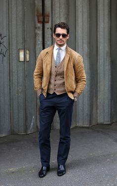 Steal His Style: David Gandy #mensfashion