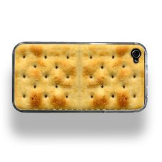 Saltine Cracker - Apple iPhone 4 or Custom Case. I'm afraid one of my friends would try to eat it. Cool Cases, Cool Iphone Cases, Coque Smartphone, Must Have Gadgets, Fun Gadgets, Awesome Gadgets, Saltine Crackers, Soda Crackers, Graham Crackers