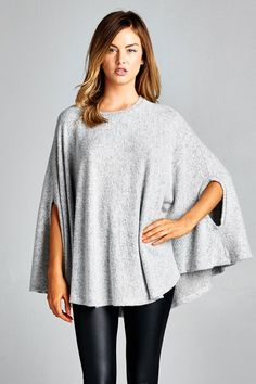 Circle Poncho Top                                                                                                                                                                                 Mehr