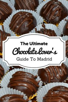 Are you a chocolate fanatic? Read our chocolate lover's guide to Madrid to learn about the Spanish treats you'll love and where to find them in the city! Chocolate Delight, Chocolate Lovers, Spanish Cuisine, Spanish Food, Madrid Travel, Spain Travel, Foodie Travel, Street Food, Tapas