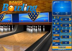 'Bonus Bowling' arcade #game is a must try!