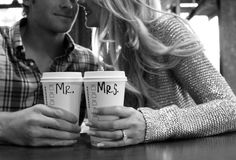 starbucks engagement photo - Google Search