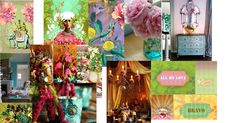 Caribbean Art with a Bohemian Flair | Erica O'Brien Cake Design | Hamden, CT