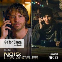 Go for Santa! #NCIS:LA