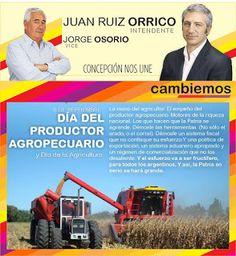 Cambiemos Concepción del Uruguay: DÍA DEL PRODUCTOR AGROPECUARIO