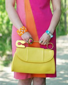 Winnipeg Style Fashion Consultant Stylist Blogger, Calvin Klein zipper asymmetrical dress, Bodhi Handbags yellow leather safety pin clutch bag, Betey Johnson heart ring,