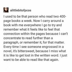 I pray everyday that this will never hAppen to me, but I can tell it's starting. Whenever I read I analyze everything. I'm dying