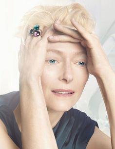 Pomellato New Face Tilda Swinton @ 2013 Ad Campaign