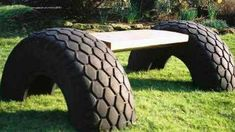 DIY Ideas to Recycle and Reuse Old Tires playground ideas pallet playhouse Tire Furniture, Recycled Furniture, Unique Furniture, Handmade Furniture, Furniture Design, Tire Playground, Playground Ideas, Reuse Old Tires, Reuse Recycle