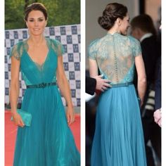 Kate Middleton at a function in London