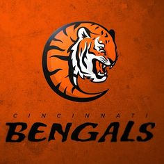 Redesigned NFL Logos for all 32 teams - The Penalty Flag ~ Cincinnati Bengals