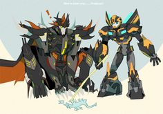 How to train you predacons by Pagodon on deviantART. Cute!