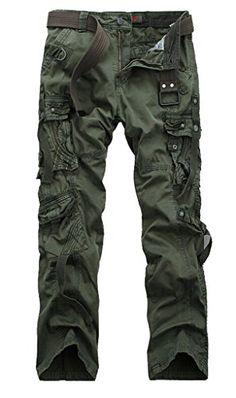 WenVen Men's Fashion Outdoor Active Cargo Pants (32,NO.6 Dark Military Green) WenVen Pants http://www.amazon.com/dp/B00NY4YVMM/ref=cm_sw_r_pi_dp_gPAOvb11AJM94