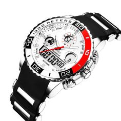 879e0720096f Top Brand Mens Sport Watches Men Quartz Analog LED Clock Man Military  Waterproo