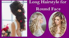 Long Hairstyle for Round Face Best Hairstyle for Round is arguably the most popular face shape among women not only it looks super attractive but also Tips For Dry Hair, Beauty Tips For Skin, Hair Care Tips, Beauty Hacks, Short Hair Updo, Curly Hair Care, Long Hairstyle, Curly Hair Styles, Hairstyles For Round Faces
