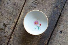 色絵豆皿 ピンク 伊藤聡信 - ENIGME 金沢市のアンティークと器の店 エニグム