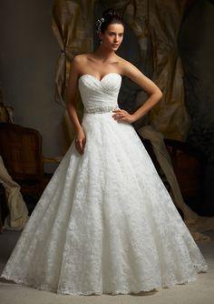 Mori Lee Beautiful Wedding Dress