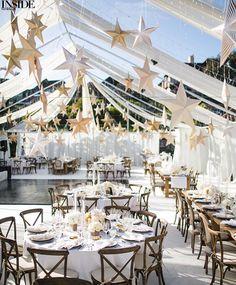 Double tap if you love summer weddings as much as we do! (: @SamuelLippkeStudios, Floral & event design: @WhiteLilacInc, Calligraphy: @LHCalligraphy, BridesmaidDresses: @JoannaAugust)