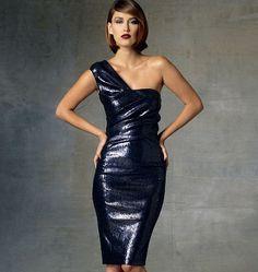 V1427, Misses' Dress