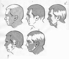 Zeichnen lernen - Licht und Schatten im Portrait-dekoking-com-2