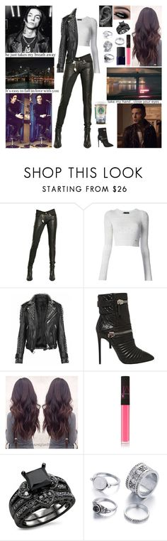 """""""✘ Don't call it a spade if it isn't a spade. The first bit of advice that you gave me that I liked was they're too strong. Get in the shower if it all goes wrong. Yeah, if you wanna find love then you know where the city is. ✘"""" by blueknight ❤ liked on Polyvore featuring Tuesday Night Band Practice, Dsquared2, Burberry, Giuseppe Zanotti and NARS Cosmetics"""