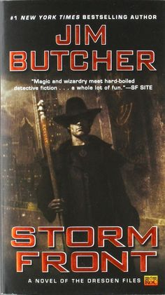 "A book review on ""Storm Front (Dresden Files #1)"" by Jim Butcher. An urban fantasy about Harry Dresden, wizard P.I.- and click to see the wrath of the Dorkie."