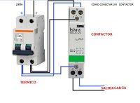 Esquemas eléctricos: COMO CONECTAR UN CONTACTORCOMO CONECTAR UN CONTACT...
