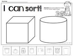 Sorting by Size Worksheet | Free Printable Worksheets | Pinterest ...