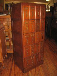 Vintage McCall's Sewing Pattern Cabinet Faux Wood Grain Metal 7 ...