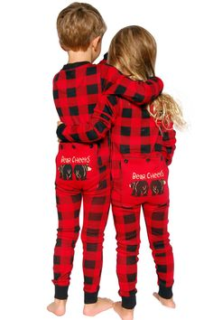 Visit us to buy matching Christmas pajamas for whole family! Place an order for Buffalo Plaid BEAR CHEEKS Flapjack now for kids and adults! Matching Christmas Pjs, Christmas Onesie, Family Christmas, Christmas Ideas, Plaid Christmas, Christmas 2015, Christmas Pictures, Pajamas For Teens, Cute Pajamas