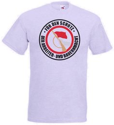 DDR T-Shirt KdA - Kampfgruppen der Arbeiterklasse Für den Schutz der Arbeiter und Bauernmacht in der Farbe grau / mehr Infos auf: www.Guntia-Militaria-Shop.de