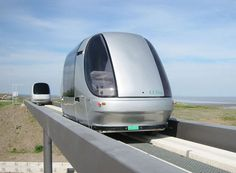 The ULTra sustainable personal transit is a futuristic and somewhat amusing transport between terminal five and the business parking lot...  Polly Products is proud to bring you a line of park furniture made of 100% recycled plastic! For a more eco-friendly world visit www.pollyproducts.com