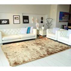 Tapete Felpudo Apolo Soft Class Casa Dona Bege 100x150cm