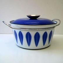 white and blue enamel vintage cookware - Bing Images