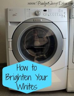 Do your whites keep fading? Don't use the bleach, use this easy tip to brighten them quick: When you're doing laundry, add 1/4 cup of lemon juice to your cycle to immediately brighten your whites