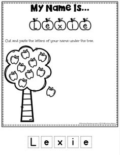 Cute Name Worksheets for Preschool - Easy and Fast Editable Name Tracing Worksheets Set #preschoolworksheets #nameworksheets #preschoolprintables #nametracing #backtoschool #planningplaytime Name Tracing Worksheets, Letter Worksheets For Preschool, Free Kindergarten Worksheets, Preschool Printables, Tracing Names, Numbers Preschool, Name Activities Preschool, Preschool Special Education, Preschool Apples
