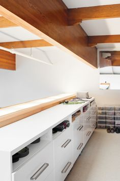 """dresser from """"Clad Romance"""" at Dwell, would work in an office too"""