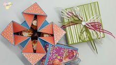 Napkin Fold Box mit Stampin' Up! Besonderes Designerpapier Geburtstagsso...