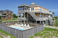 HATTERAS Vacation Rentals | Cast Away - Oceanside Outer Banks Rental | 726 - Hatteras Rental