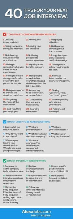 infographic infographic : 40 Tips For Your Next Job Interview. Image Description infographic : 40 Tips For Your Next Job Interview. Interview Skills, Job Interview Questions, Job Interview Tips, Job Interviews, Interview Outfits, Interview Hair, Interview Techniques, Interview Process, Interview Preparation