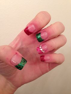 My Christmas nails I did this year :)